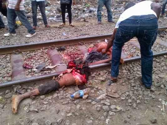 Lagos Train Cuts Man to Pieces in Oshodi [+Photos - Viewer ...